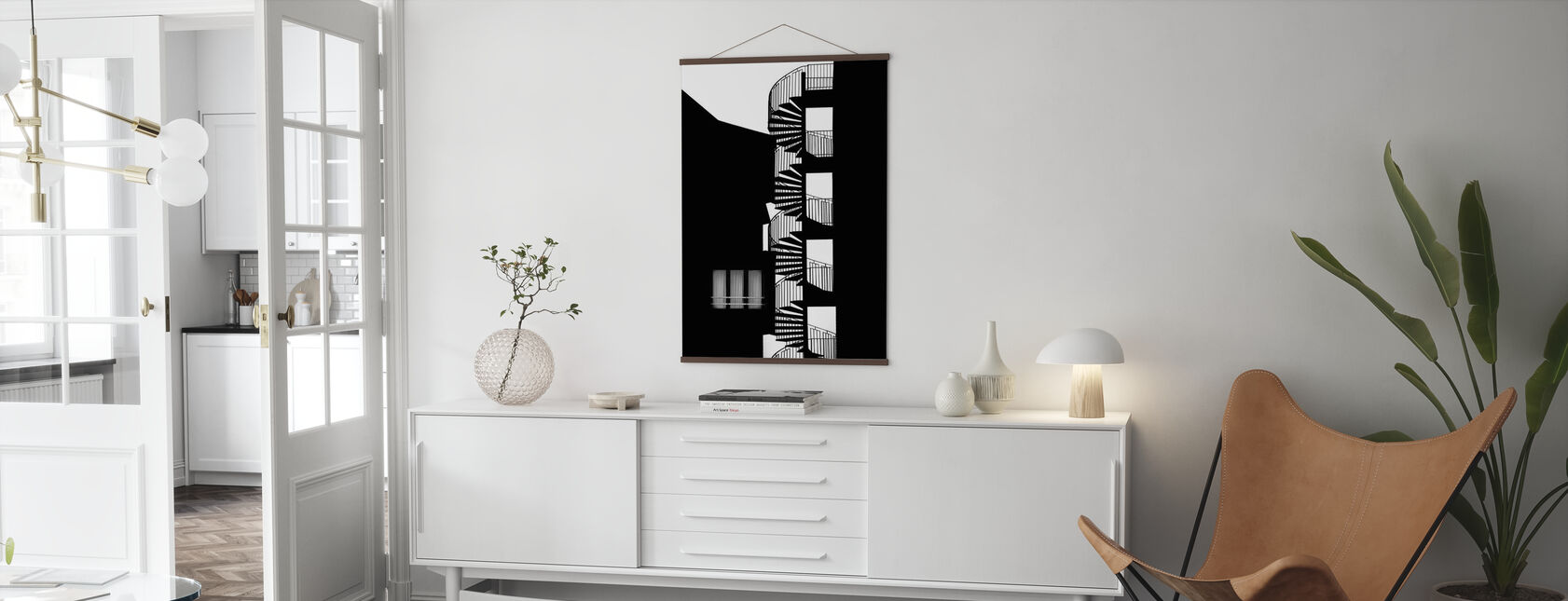 Silhouette - Poster - Living Room