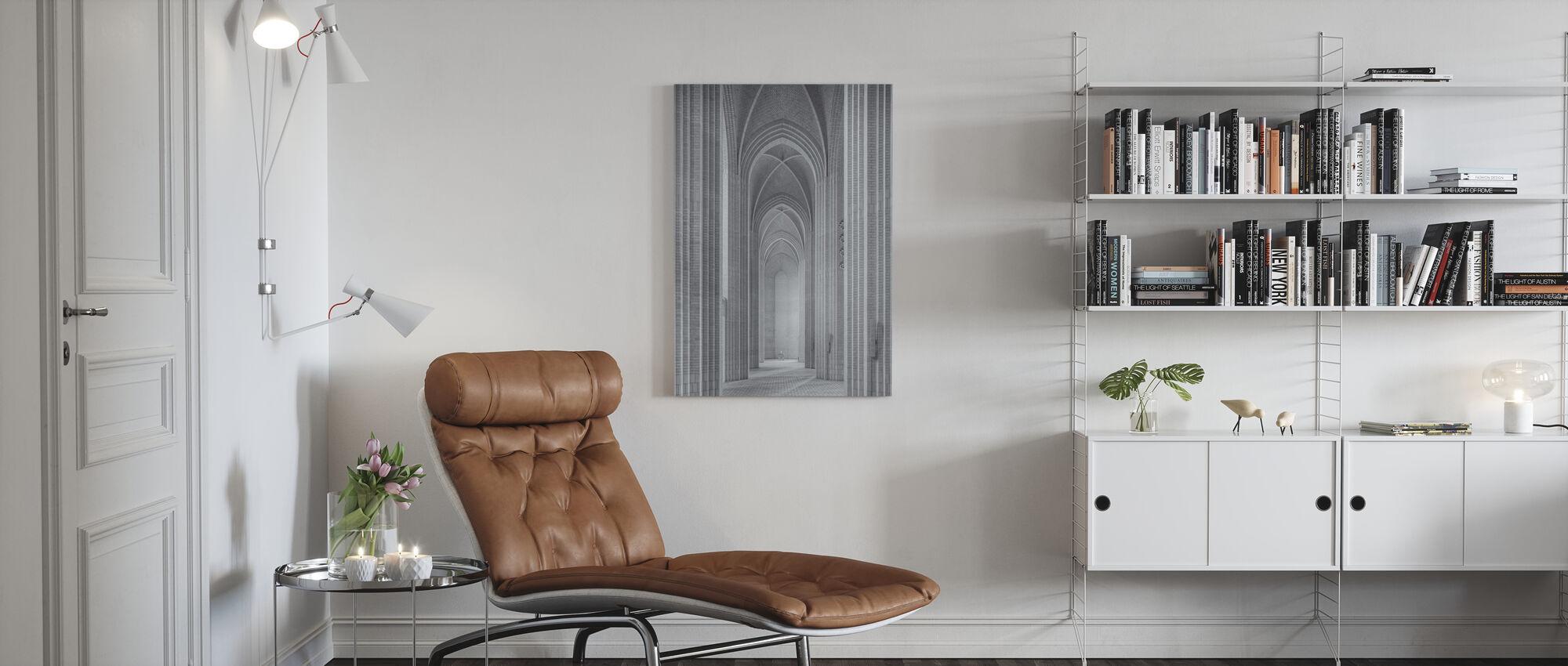 Grundtvig Church - Canvas print - Living Room