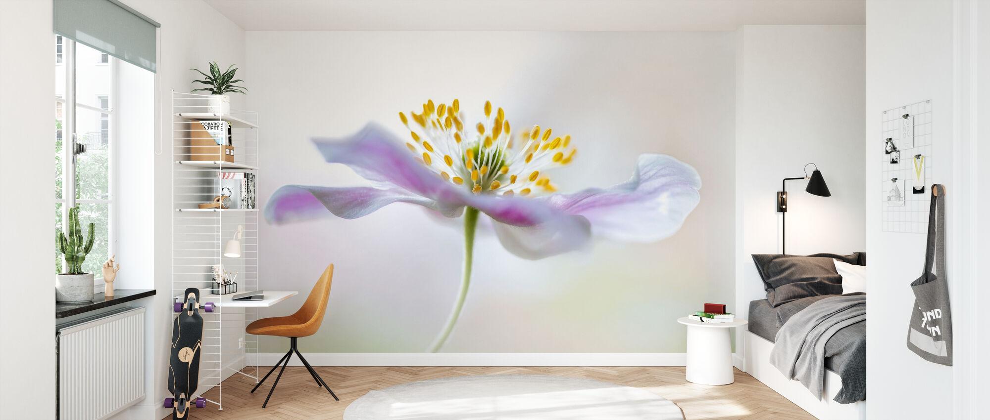 Wood Anemone - Wallpaper - Kids Room
