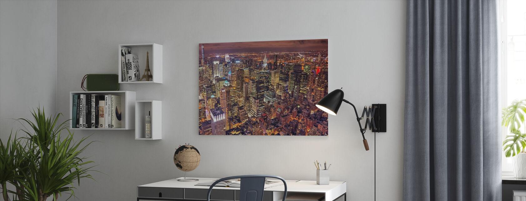 Night Life - Canvas print - Office