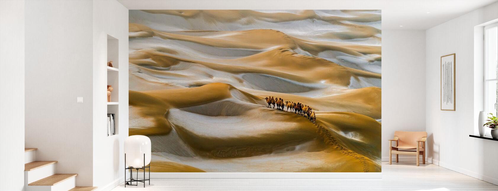 Wüste Winter - Tapete - Flur
