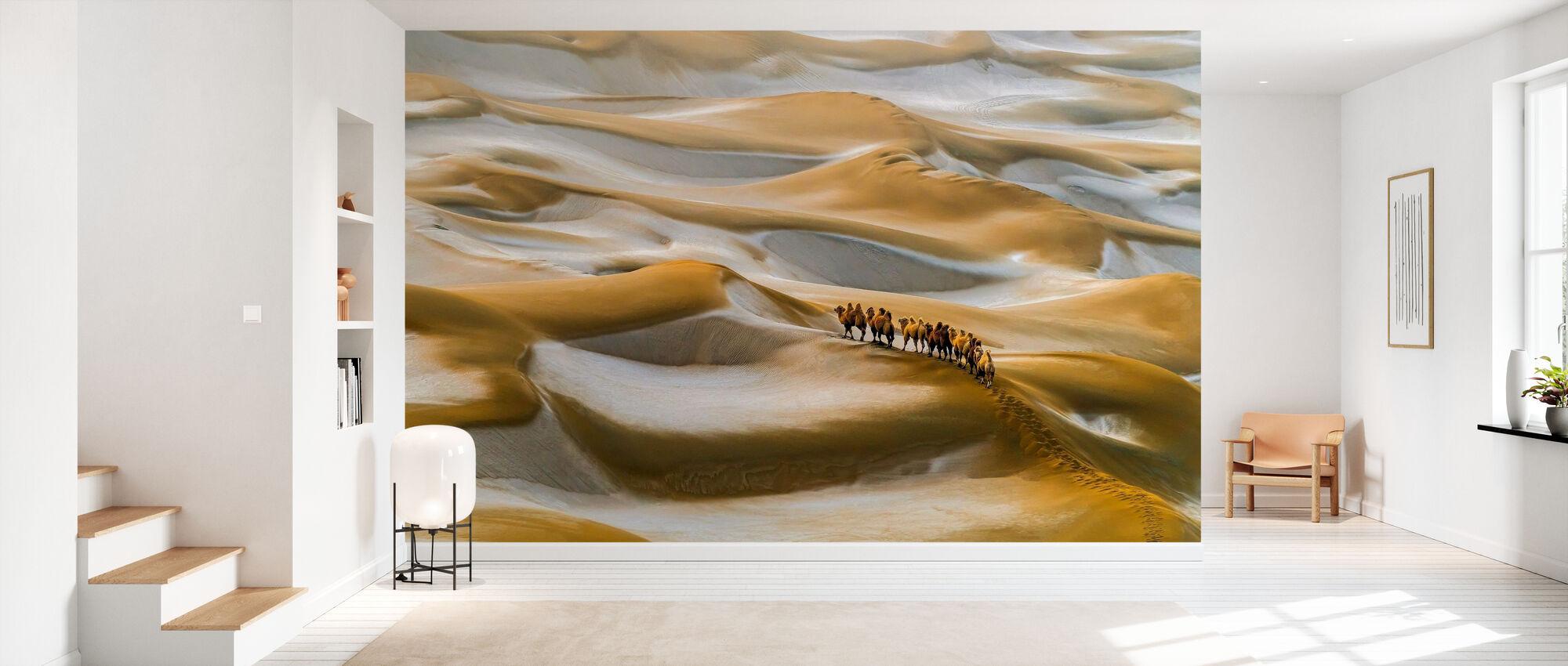 Desert Winter - Wallpaper - Hallway