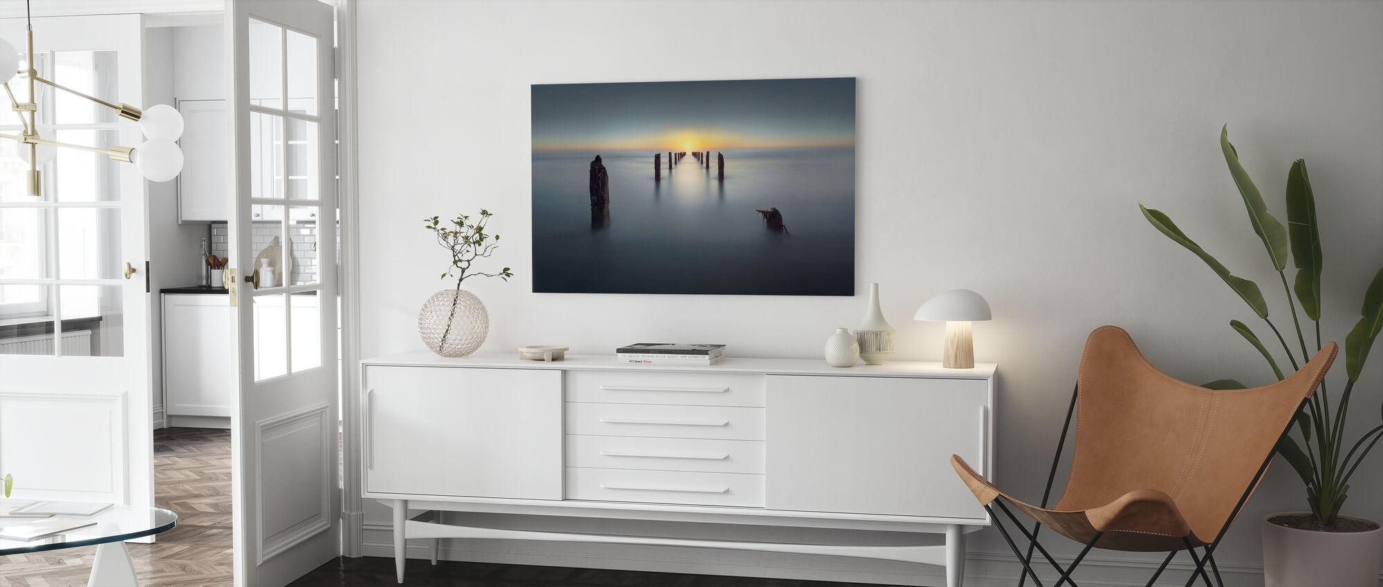 Last Light - Canvas print - Living Room