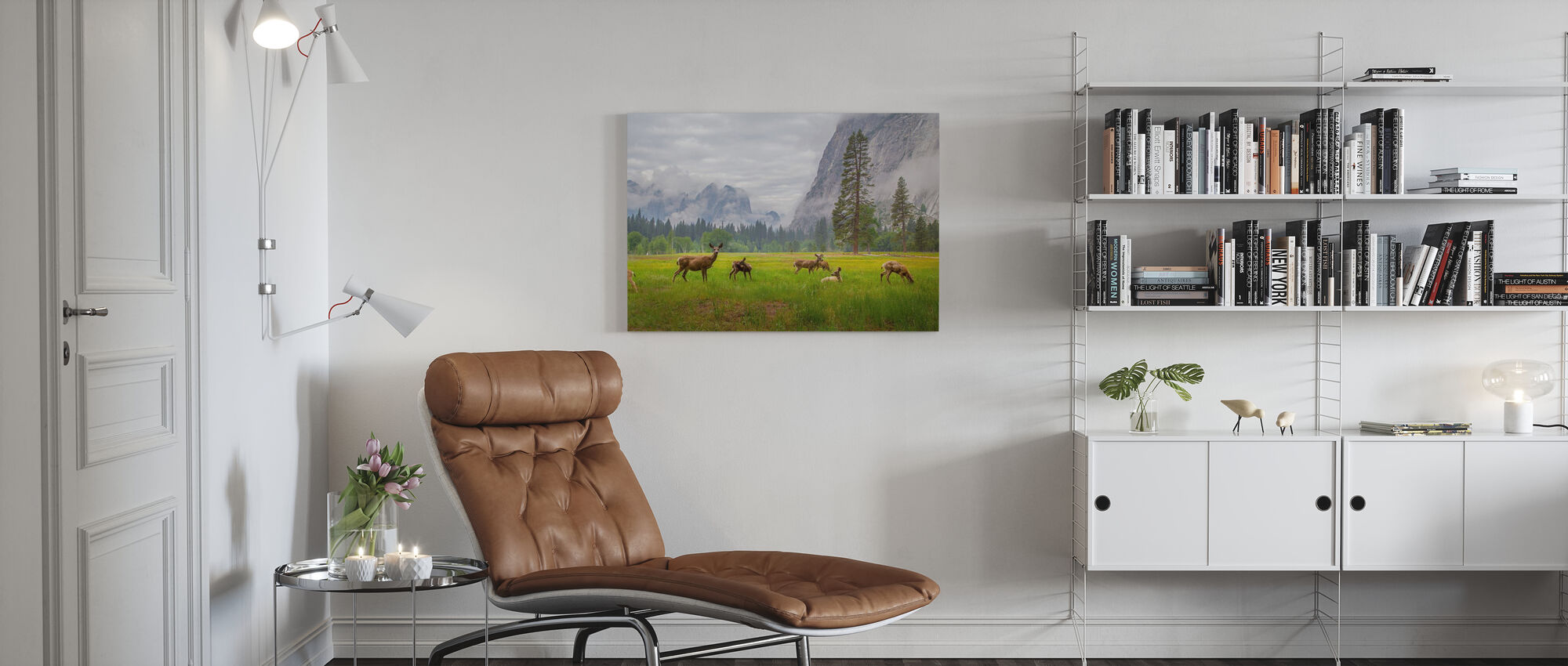 A Feeling of Ancient Time - Canvas print - Living Room