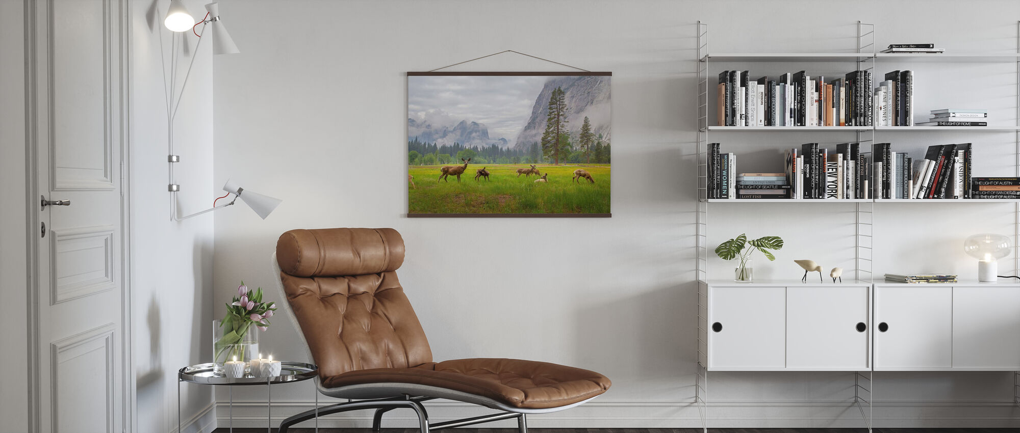 A Feeling of Ancient Time - Poster - Living Room