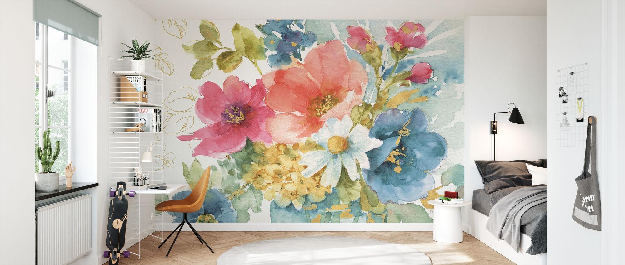 My Garden Bouquet I - Wallpaper - Kids Room