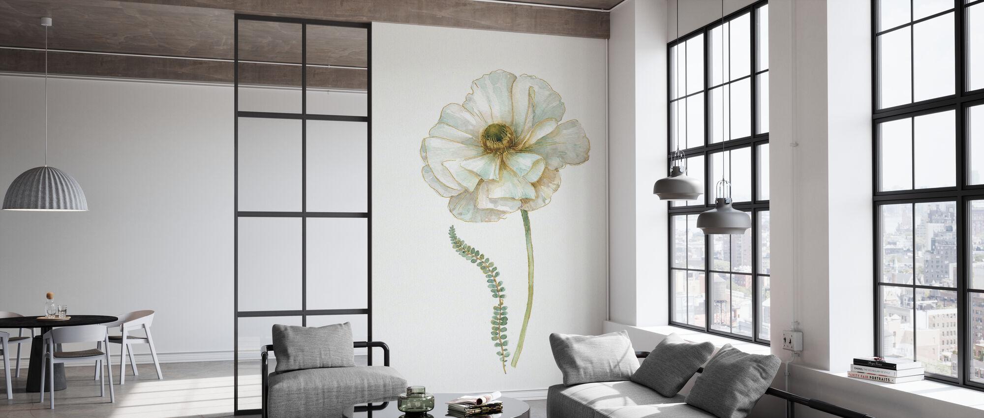 My Greenhouse Single Poppy II - Wallpaper - Office