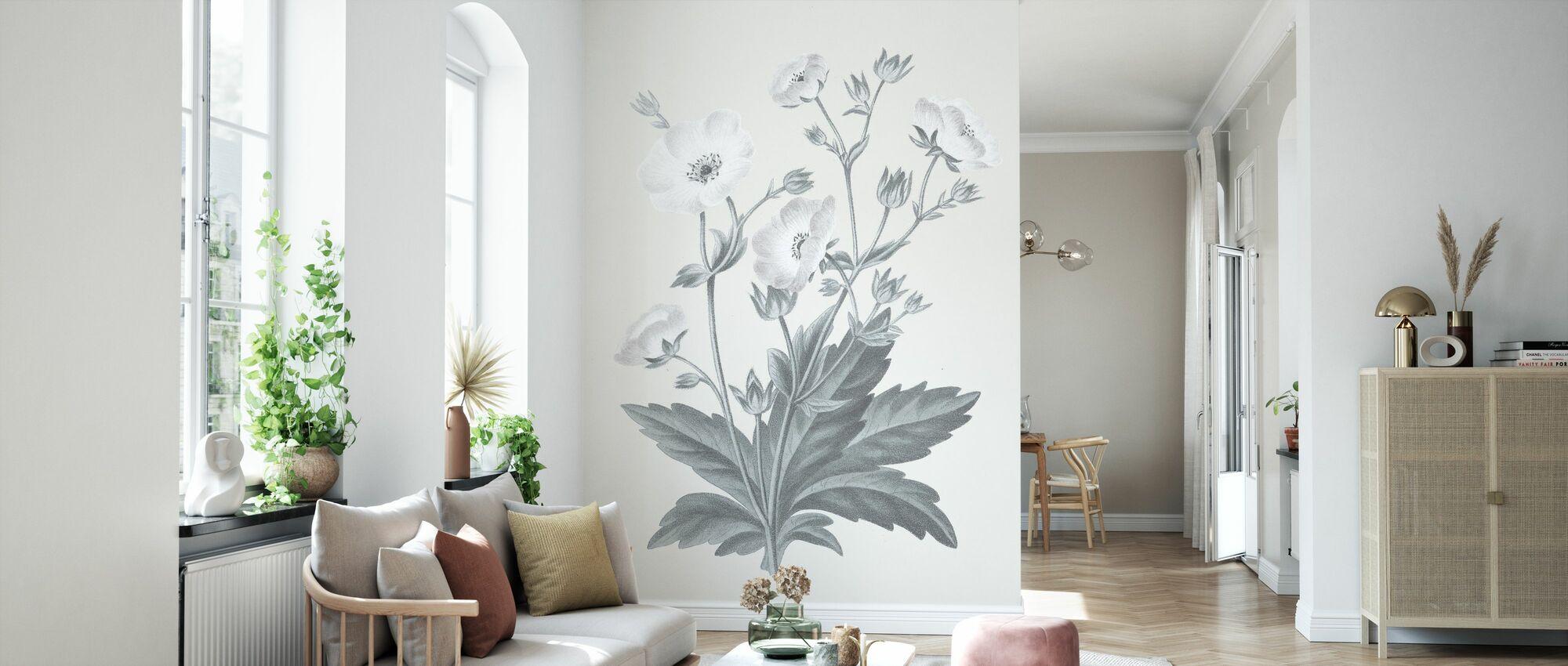 Neutral Botanical VI - Tapete - Wohnzimmer