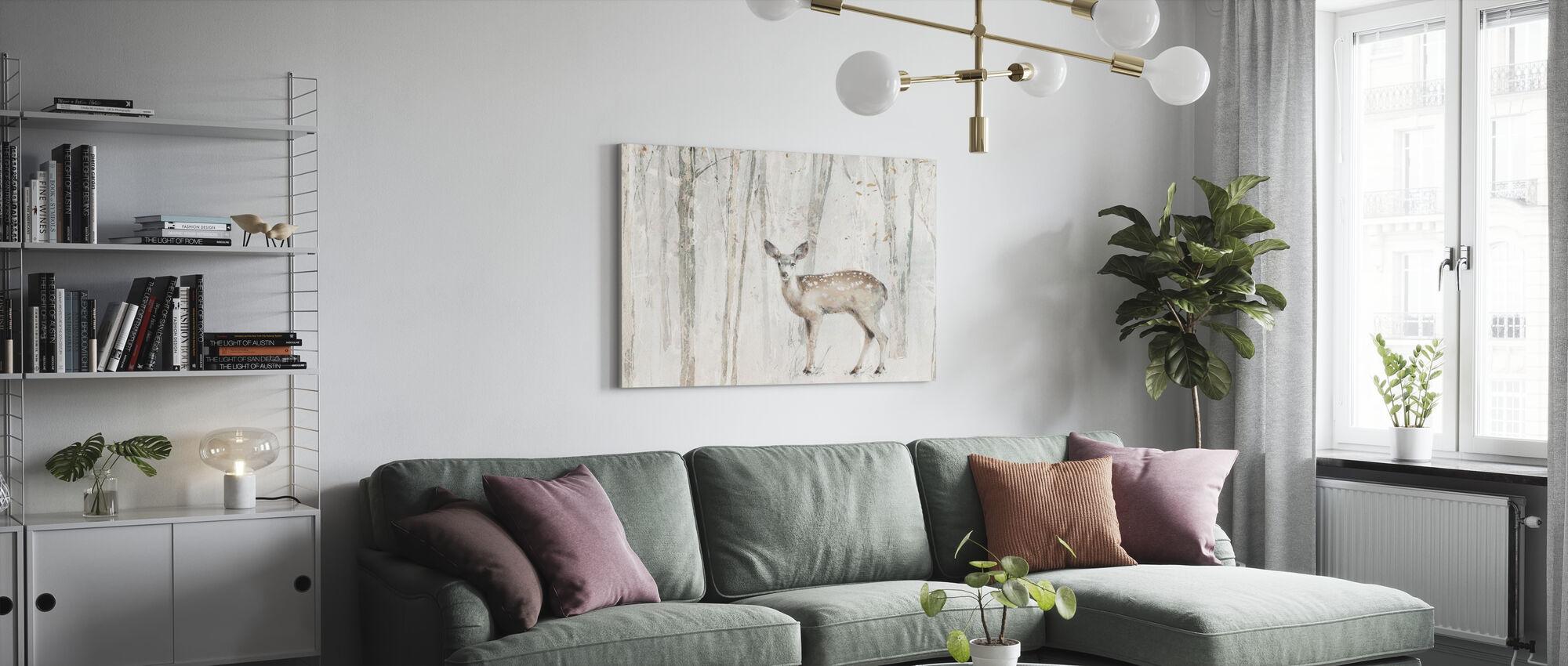 A Woodland Walk VII Crop - Canvas print - Living Room