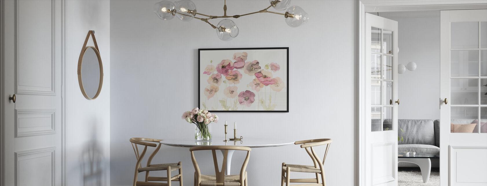 Zarte Mohnblumen - Poster - Küchen
