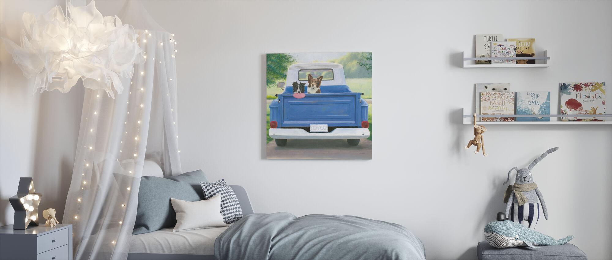Speeldag - Canvas print - Kinderkamer