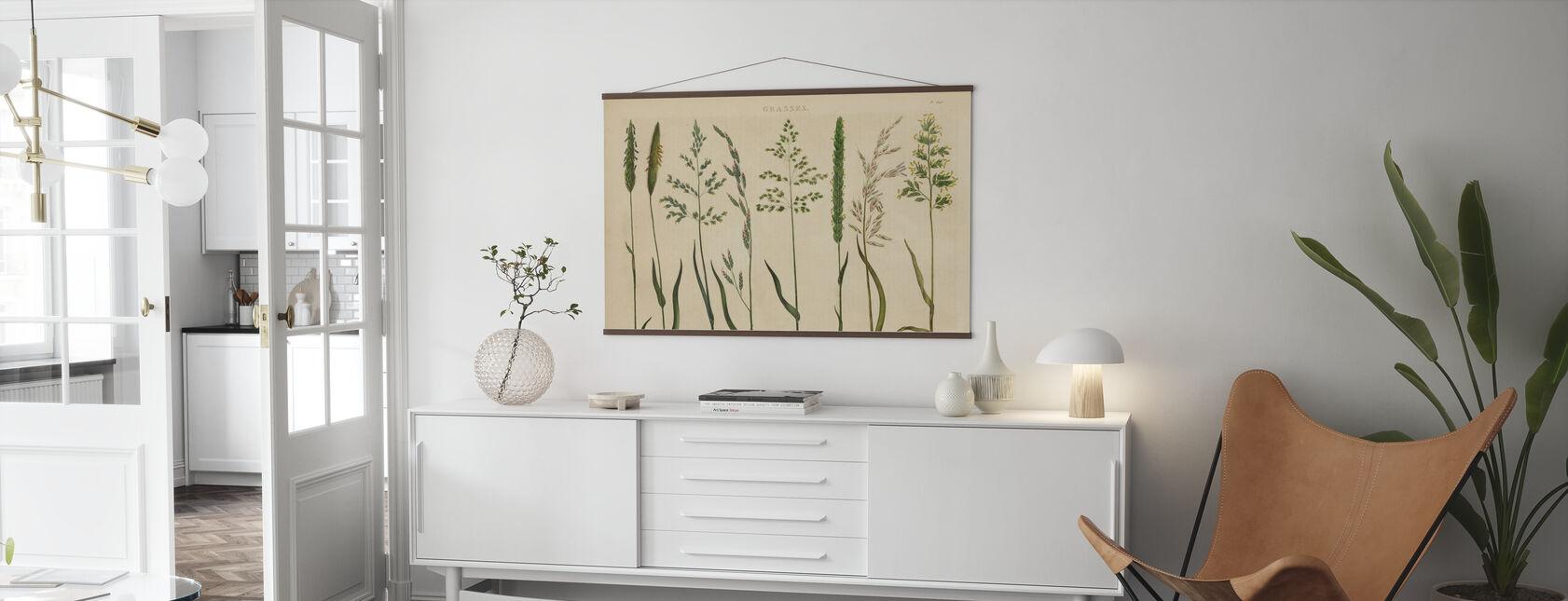 Växtbaserade Botaniska VII - Poster - Vardagsrum