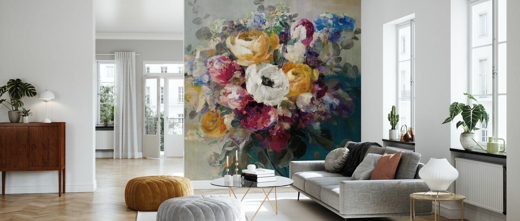 Fall Bouquet - Wallpaper - Living Room