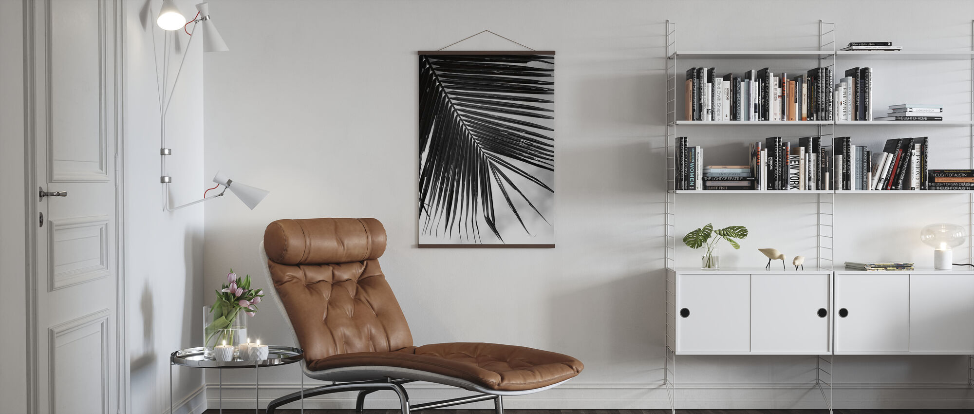 Palm Frond II - Poster - Living Room