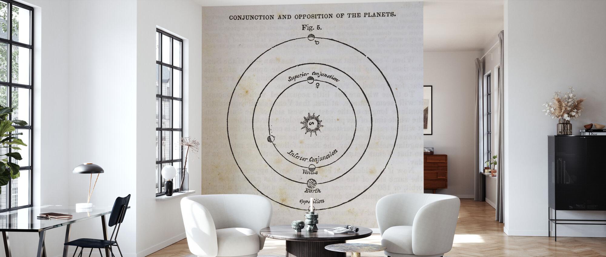Geografi af Himlen X - Tapet - Stue