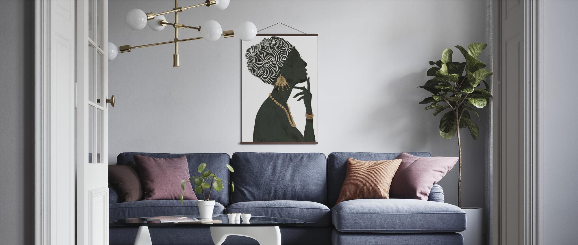 Graceful Majesty I - Poster - Living Room