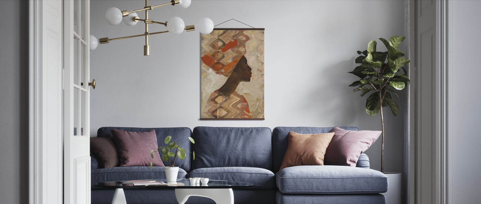 African Beauty I - Poster - Living Room