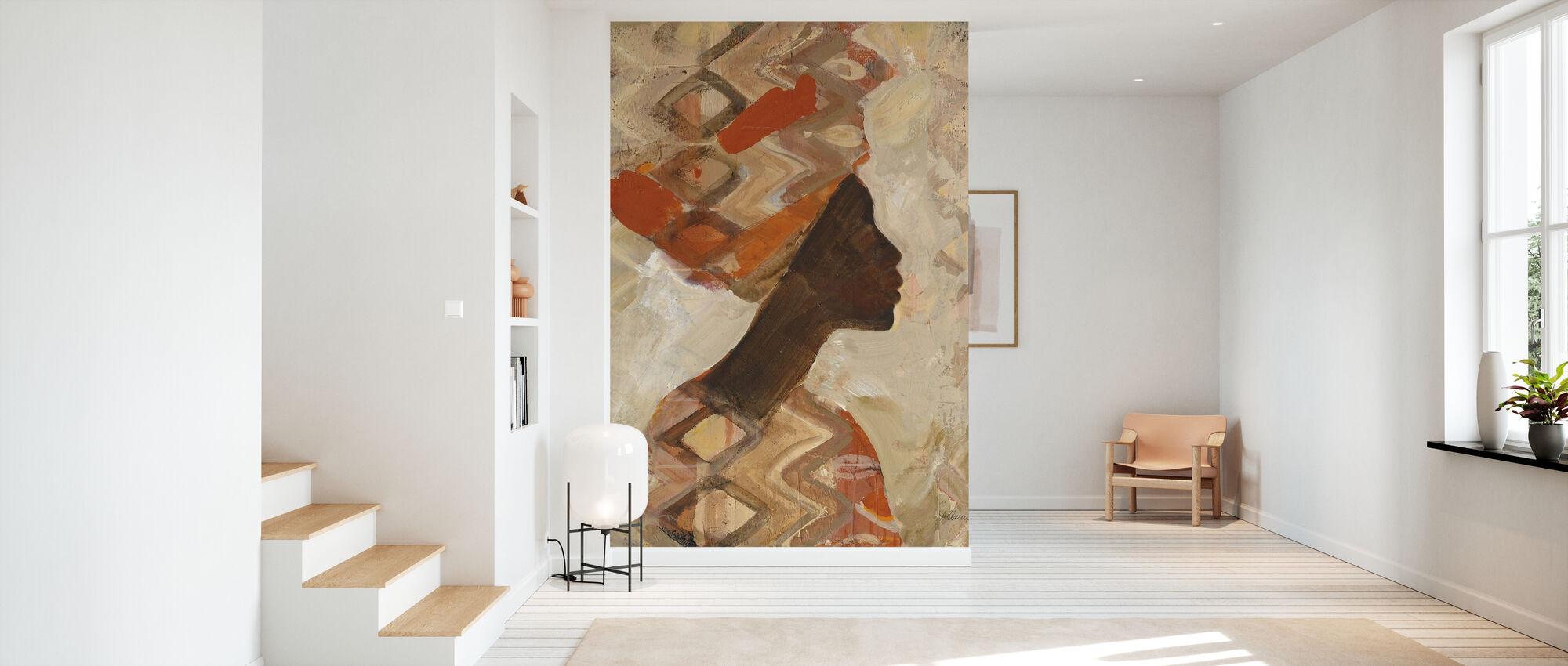 African Beauty I - Wallpaper - Hallway