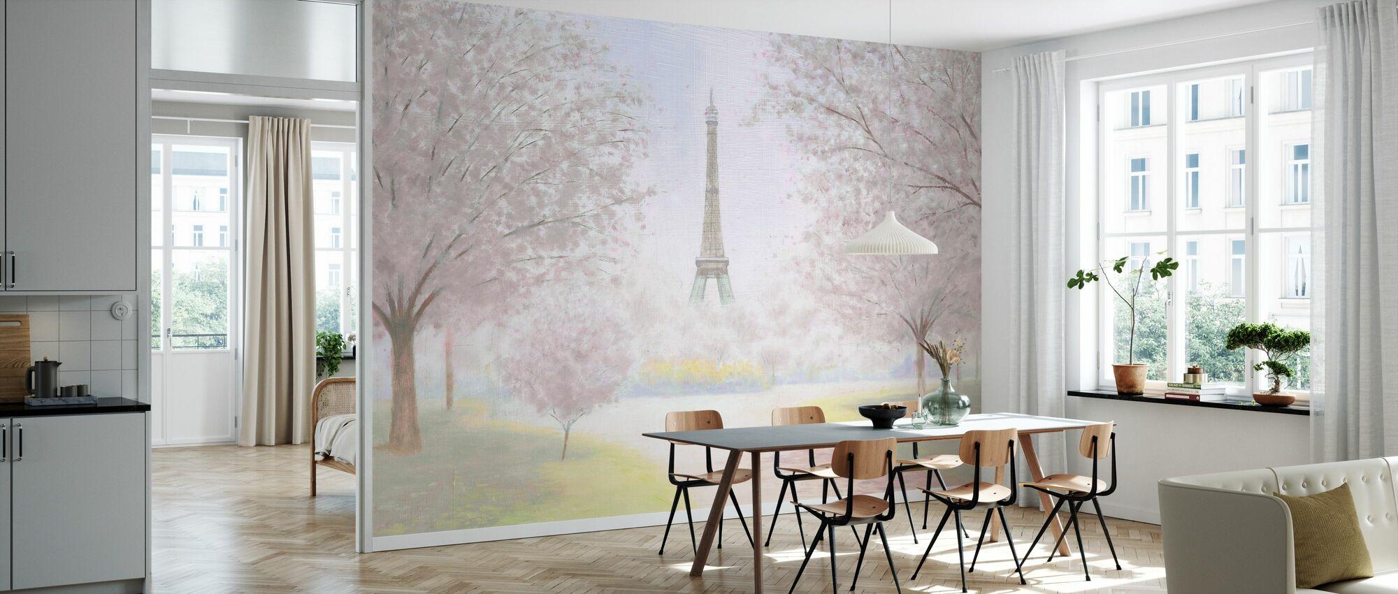 Pretty Paris - Wallpaper - Kitchen