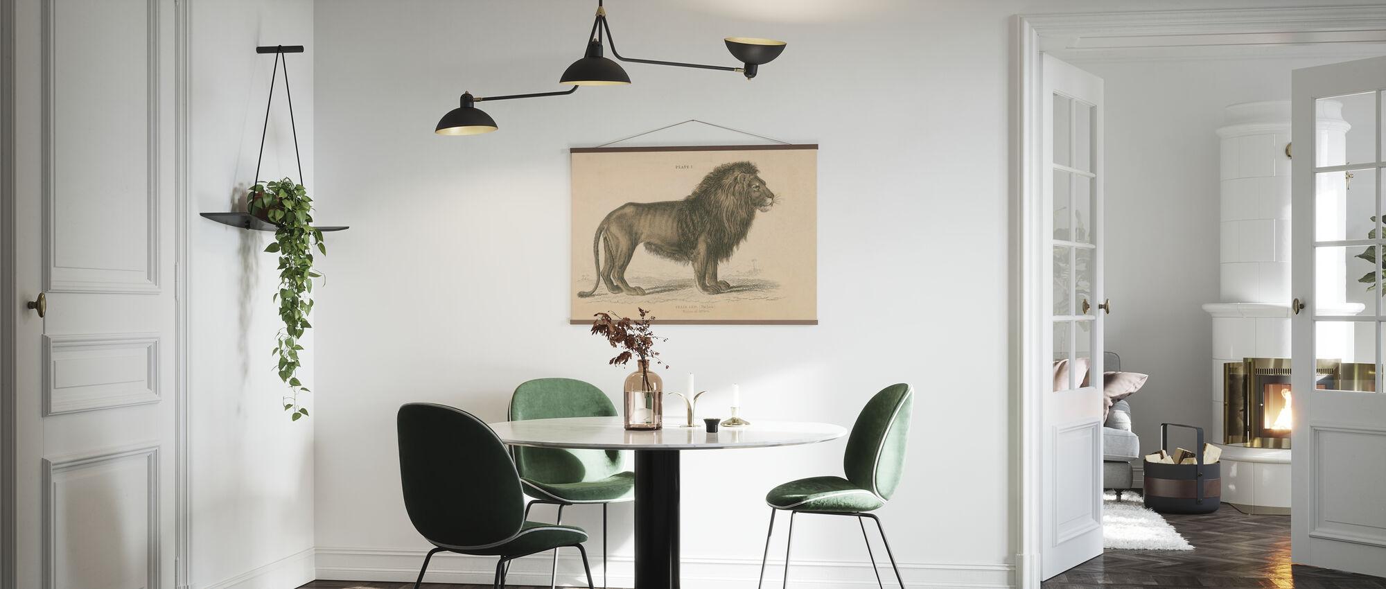 Vintage Lion - Poster - Kitchen