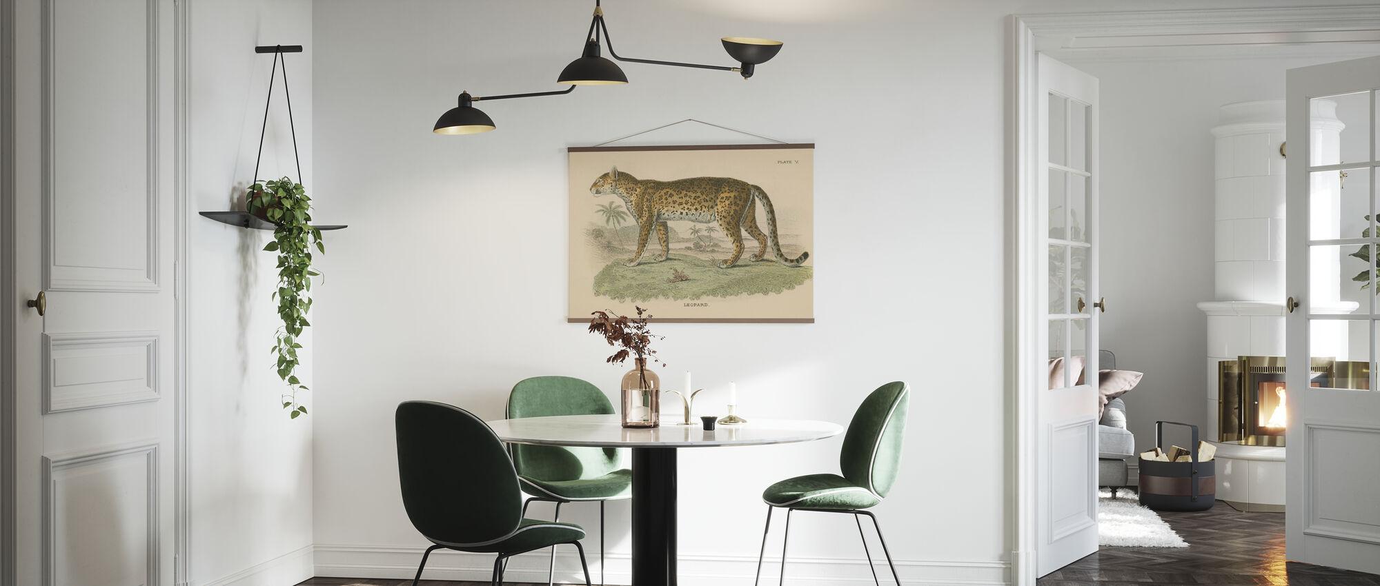 Vintage Leopard - Poster - Kitchen