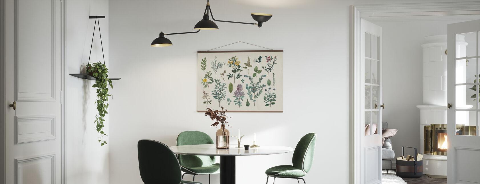 Victorian Garden IV - Poster - Kitchen
