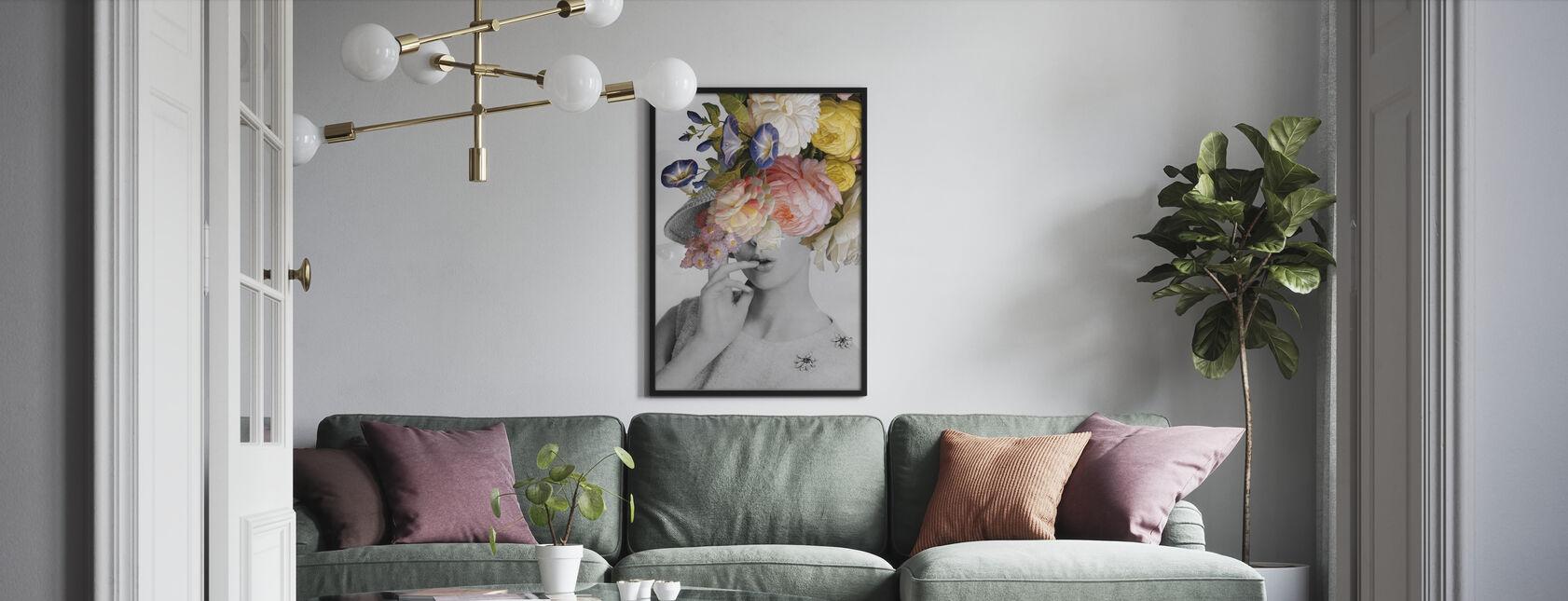 Garden Party I - Ingelijste print - Woonkamer
