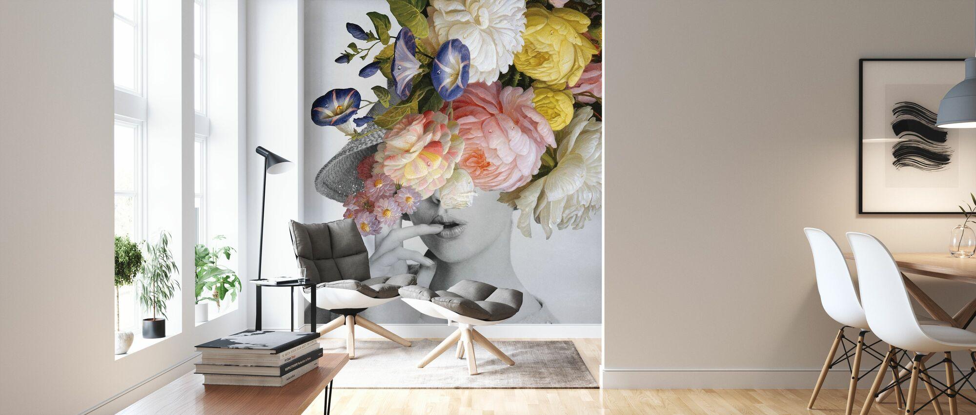 Garden Party I - Wallpaper - Living Room