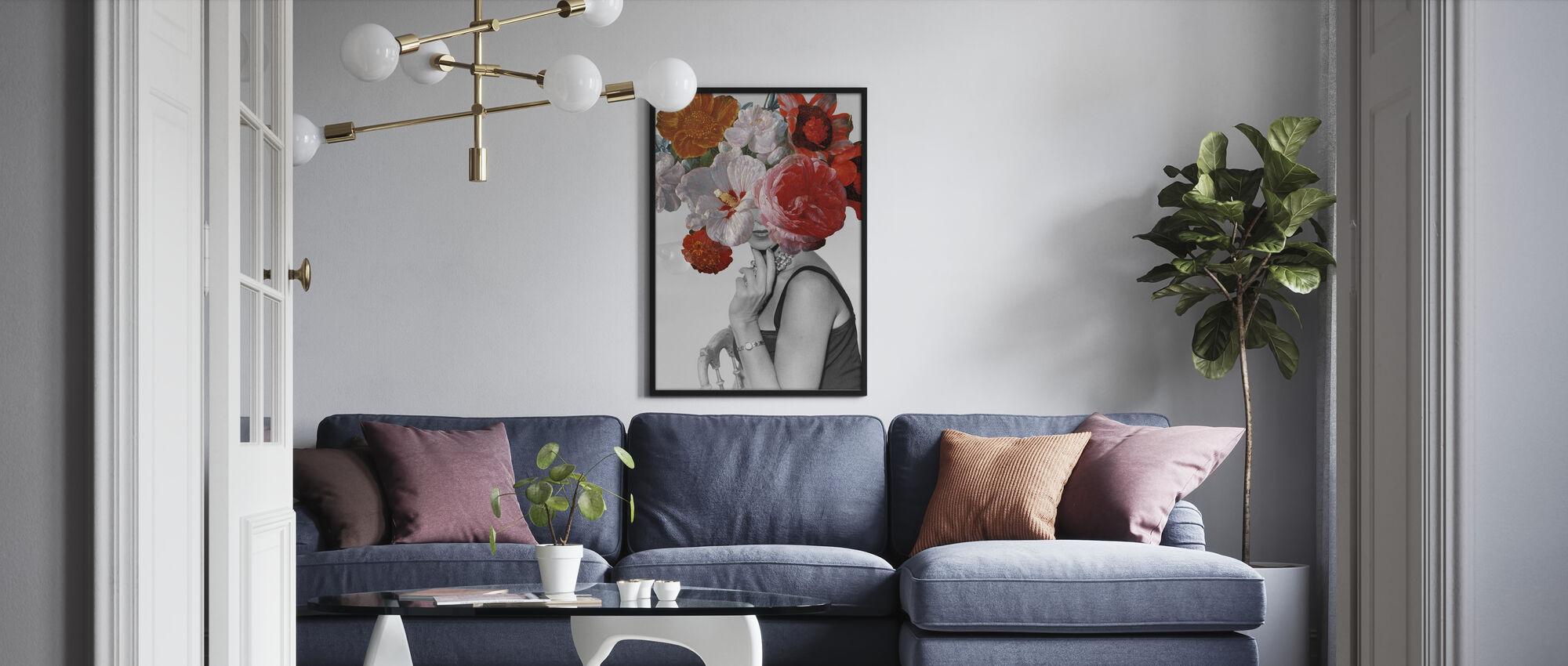 Garden Party II - Poster - Living Room