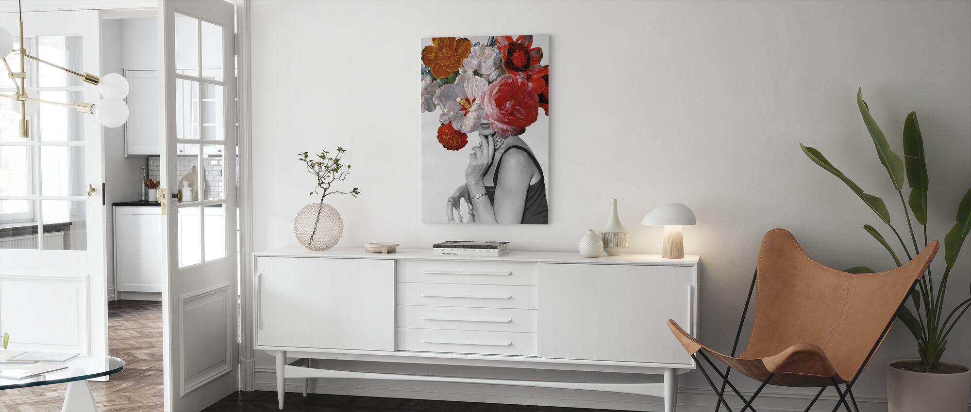 Tuinpartij II - Canvas print - Woonkamer