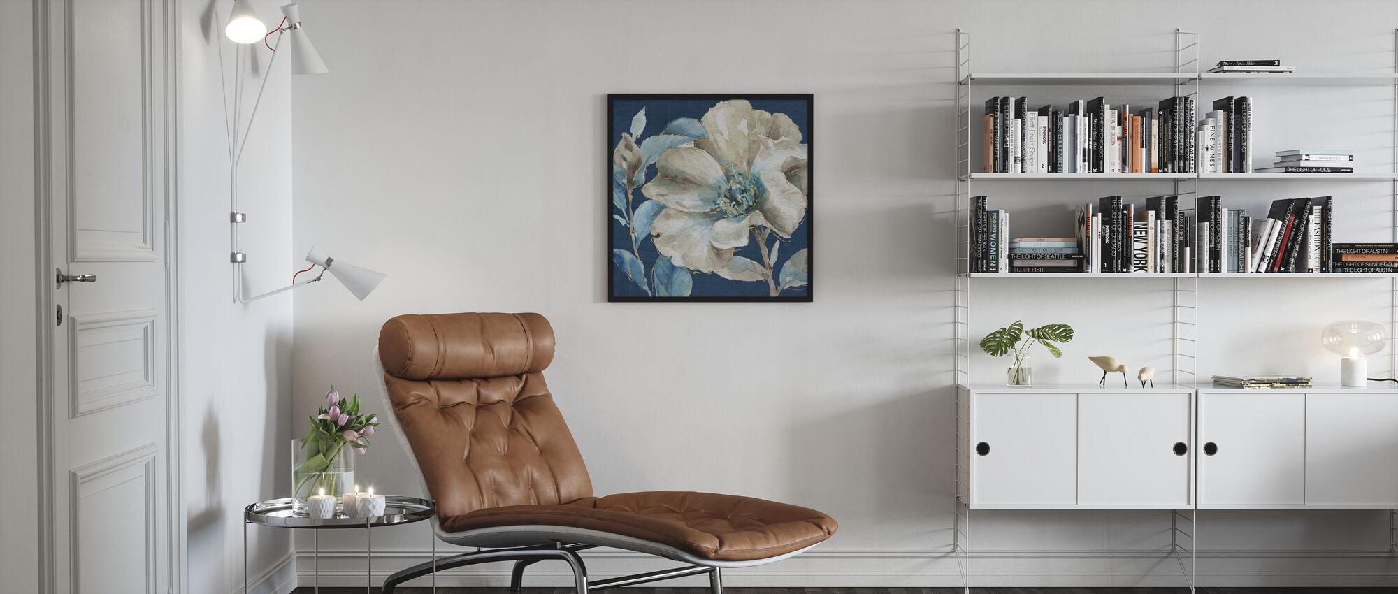 Indigold IV Navy - Poster - Living Room