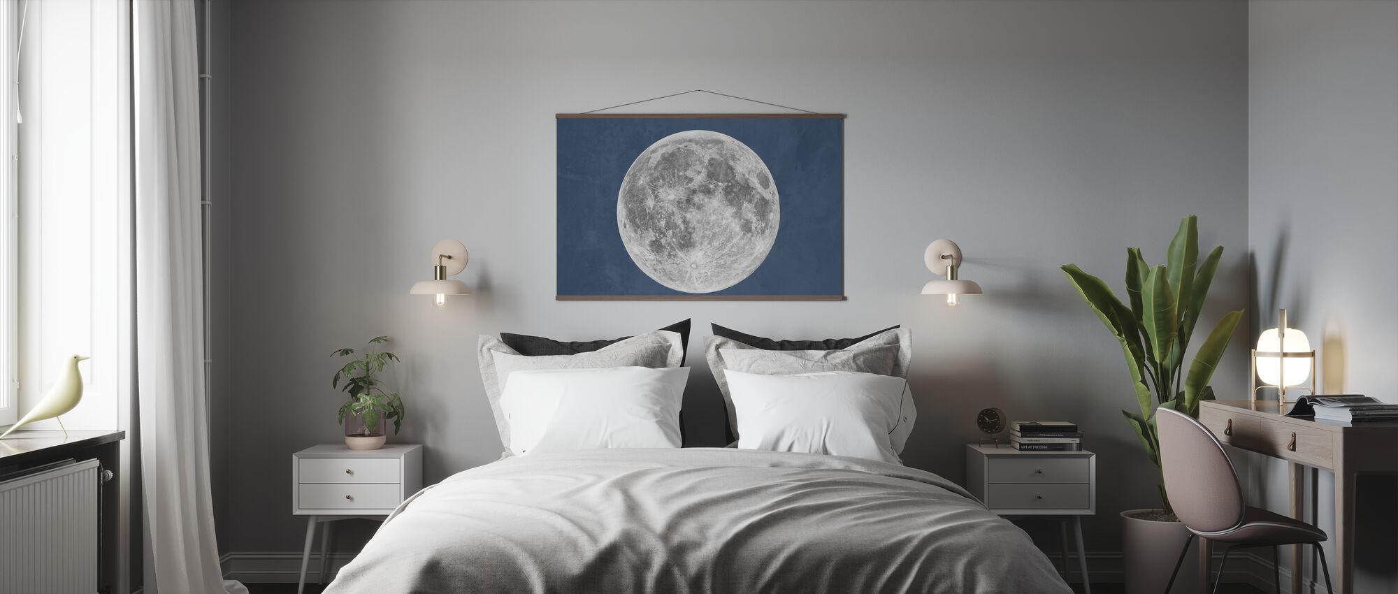Luna Blu - Poster - Camera da letto