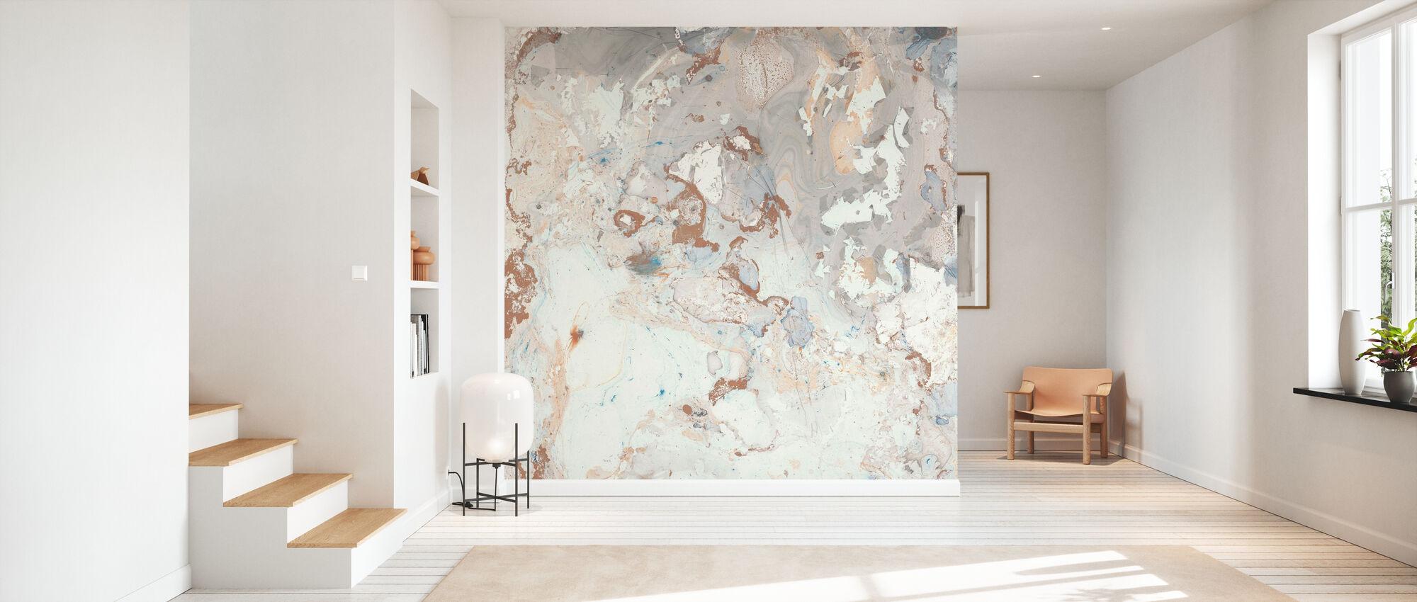 Blush Marble - Wallpaper - Hallway