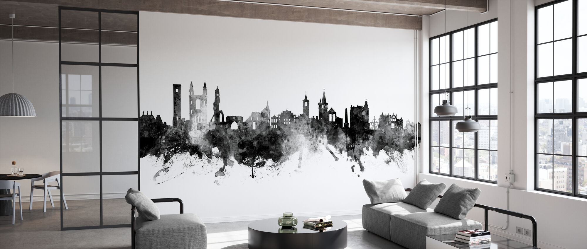 St Andrews Scotland Skyline - Wallpaper - Office