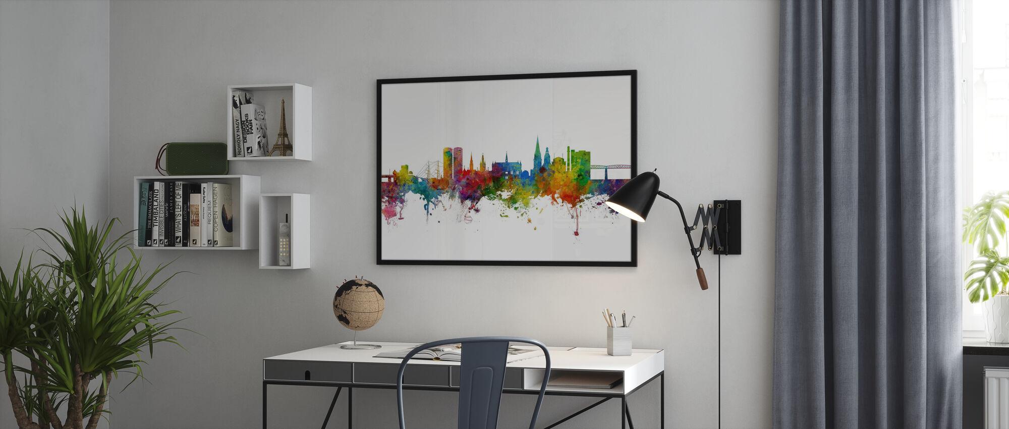 Dundee Scotland Skyline - Poster - Office