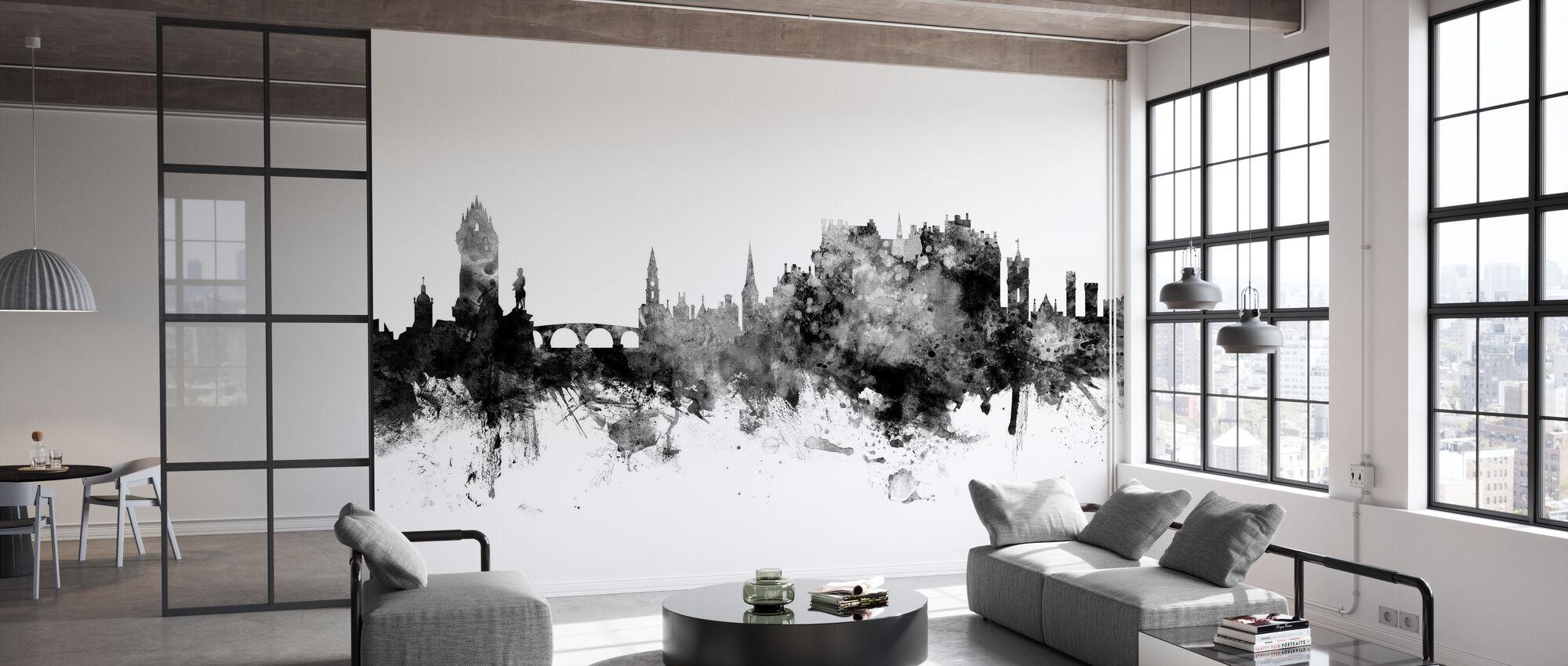 Stirling Scotland Skyline - Wallpaper - Office