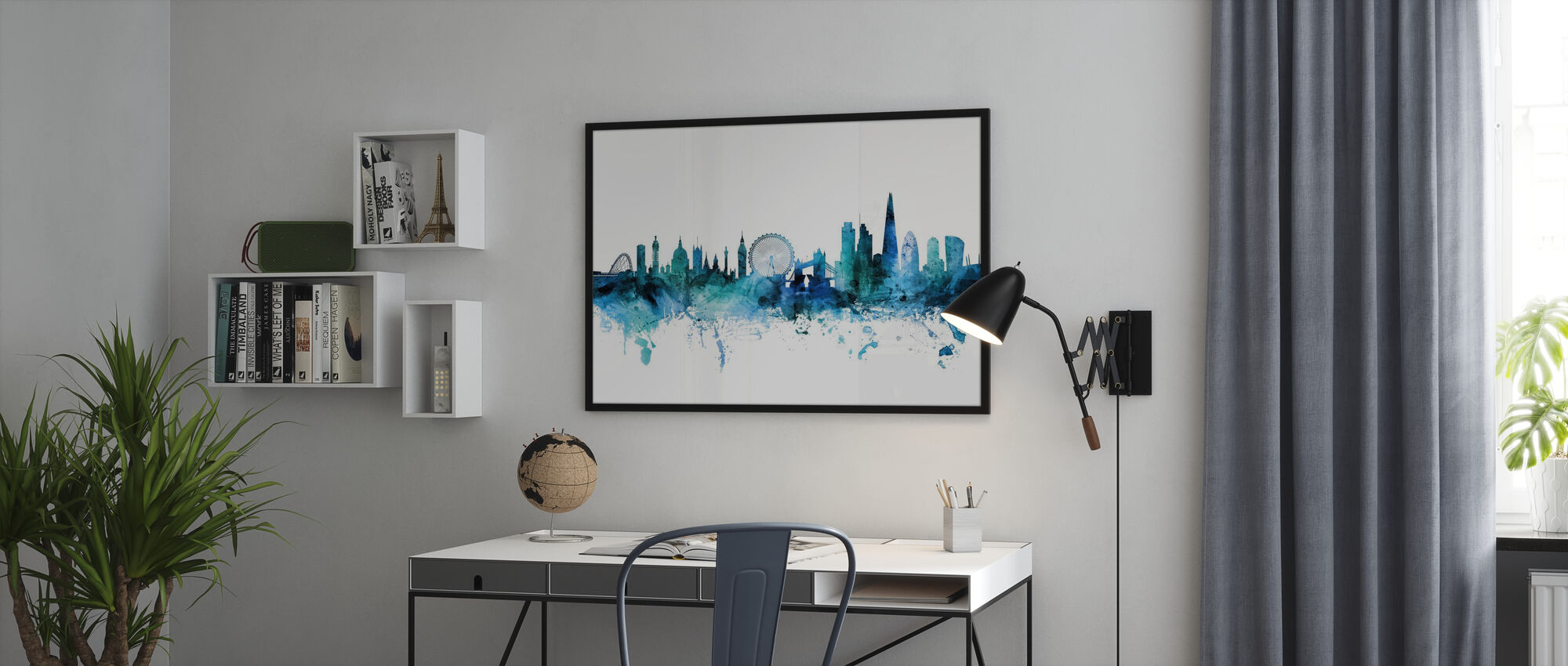London England Skyline - Poster - Office