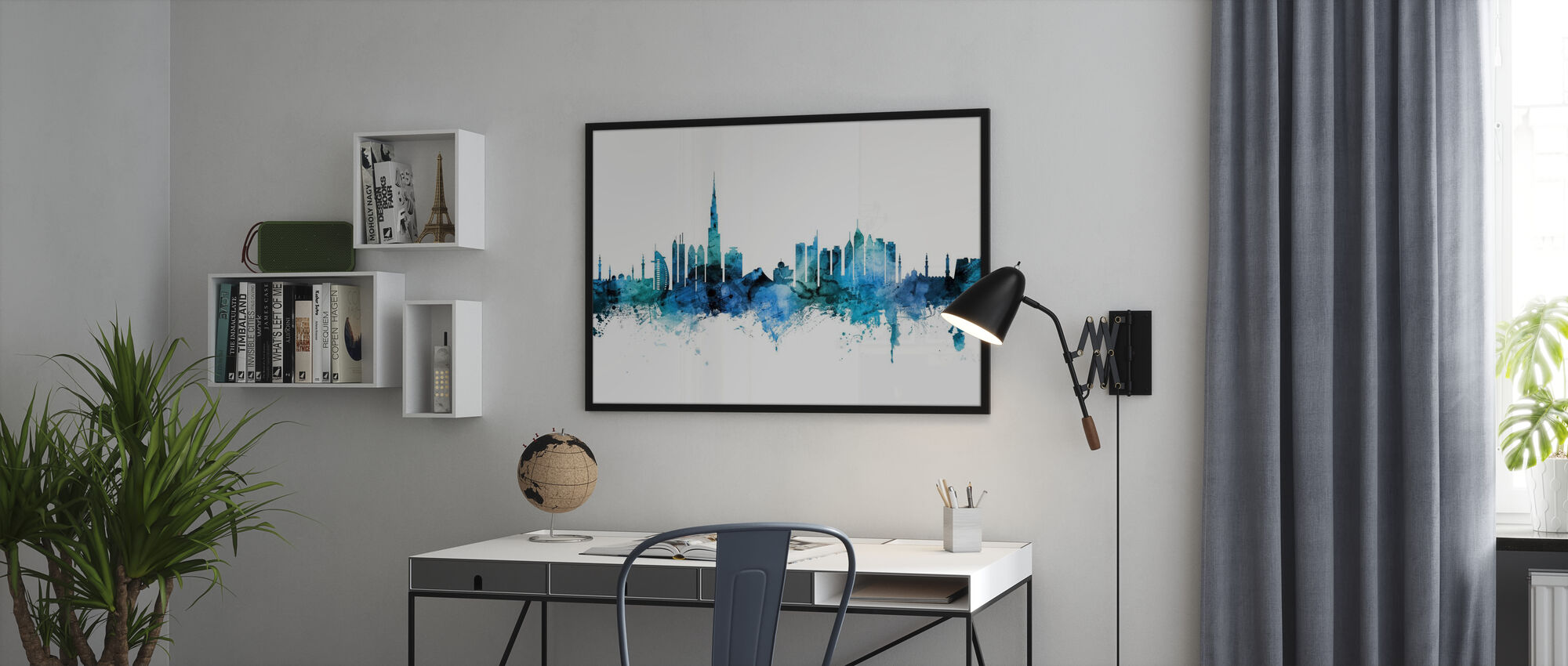 Dubai Skyline - Poster - Office