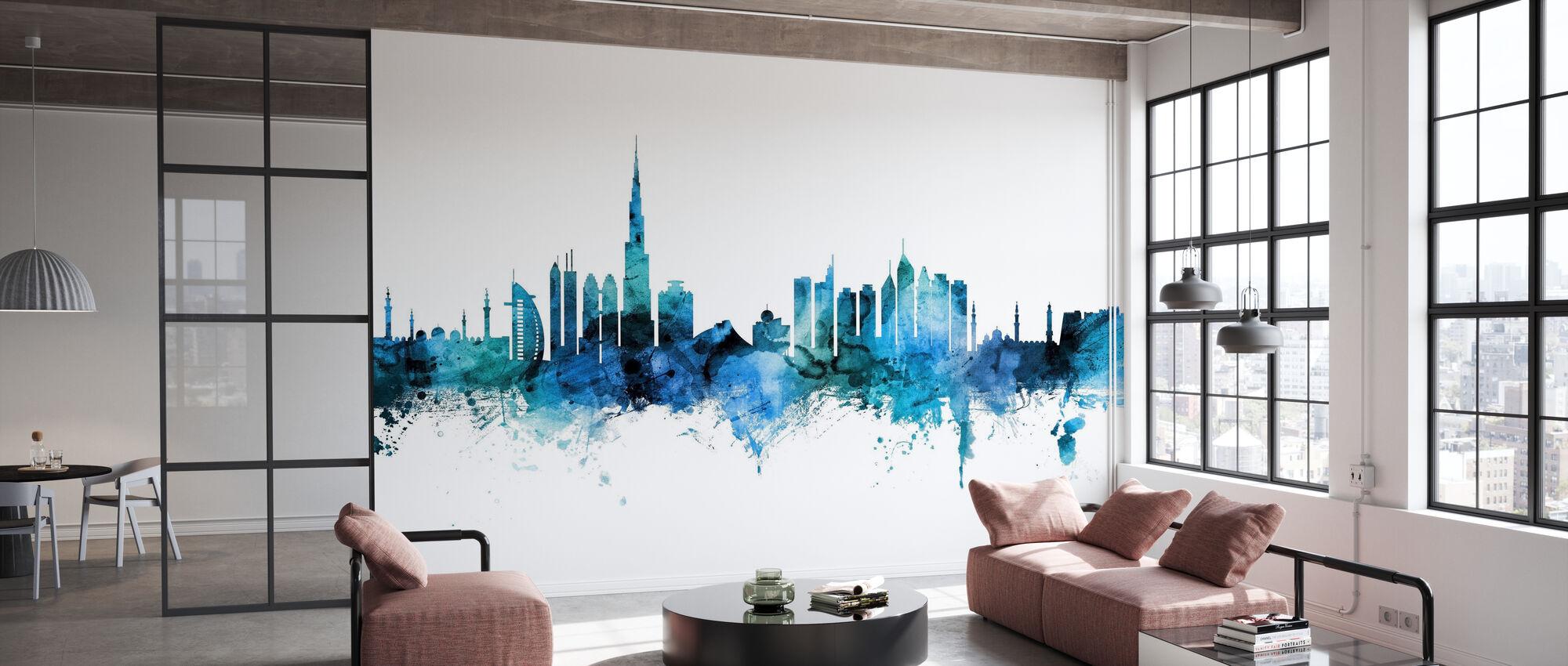 Dubai Skyline - Tapete - Büro