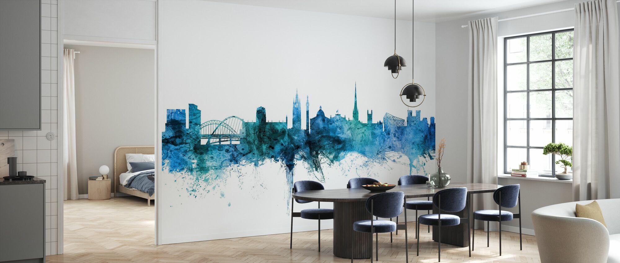 Newcastle England Skyline - Wallpaper - Kitchen