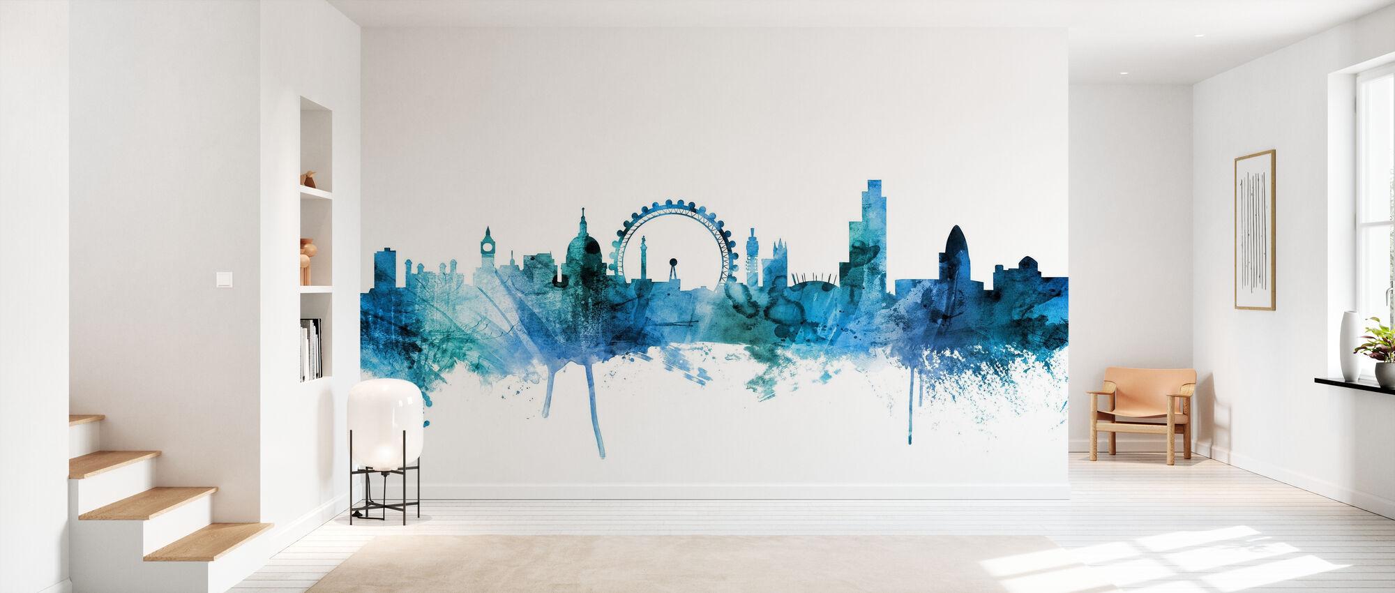 Skyline Londres Inglaterra - Papel pintado - Corredor