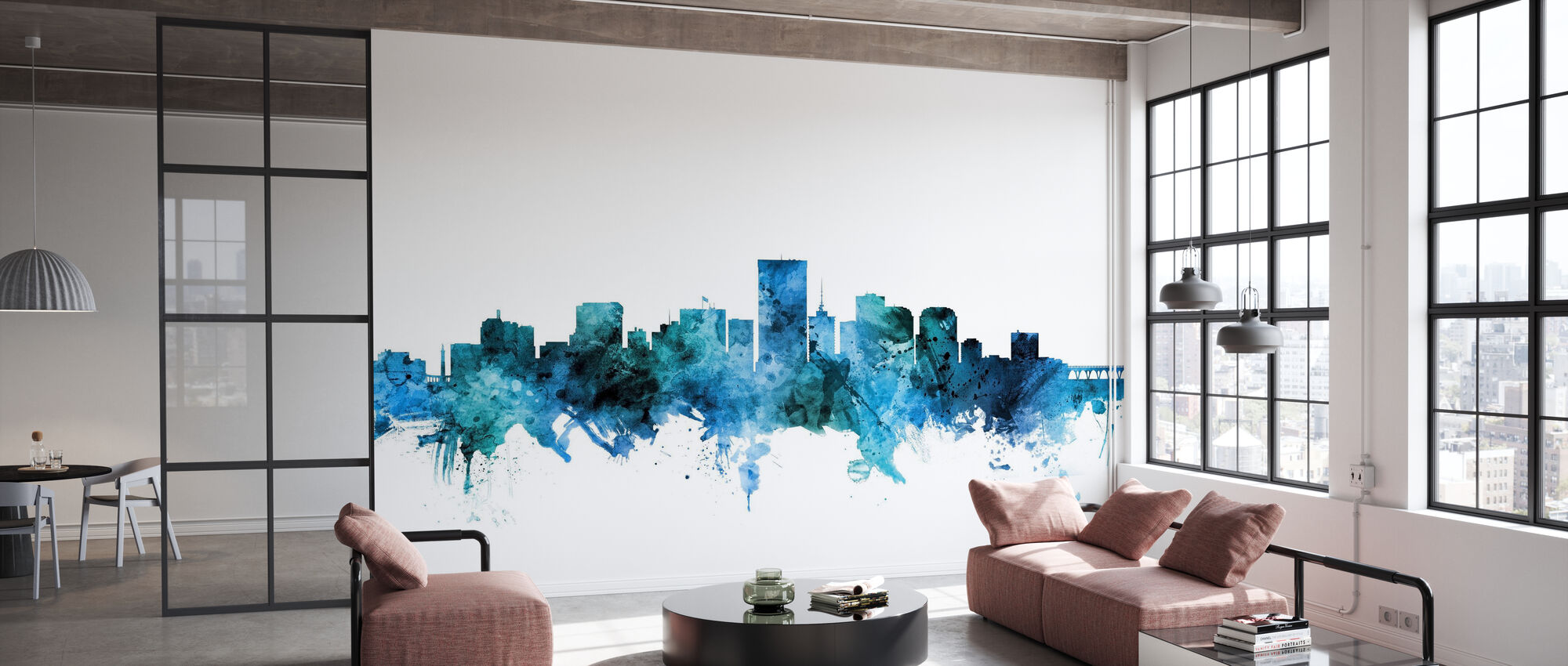 Richmond Virginia Skyline - Wallpaper - Office