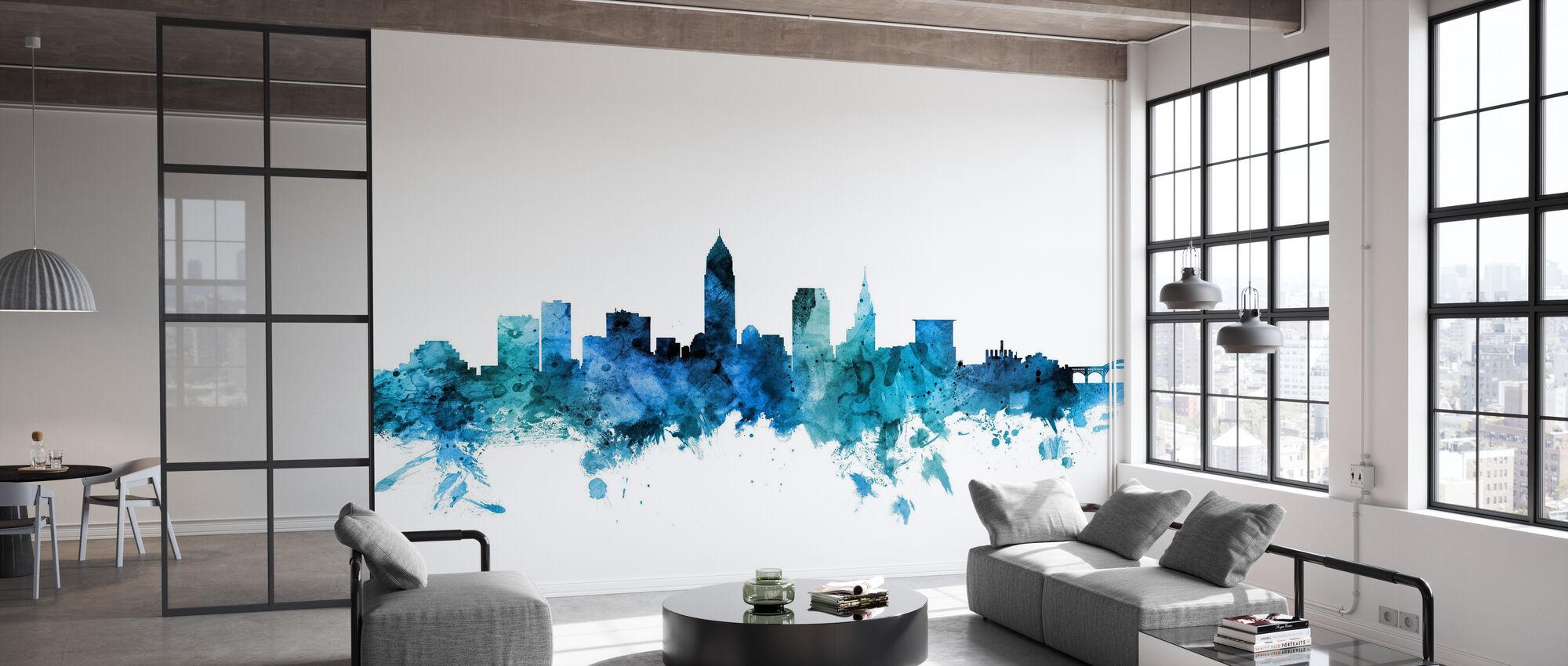 Cleveland Ohio Skyline - Tapetti - Toimisto