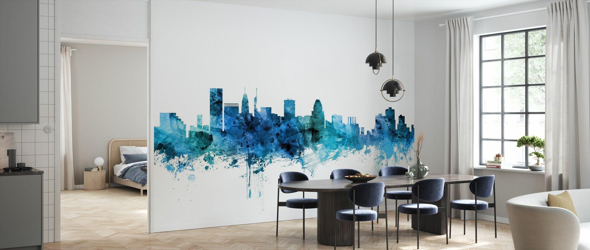 Baltimore Maryland Skyline - Wallpaper - Kitchen