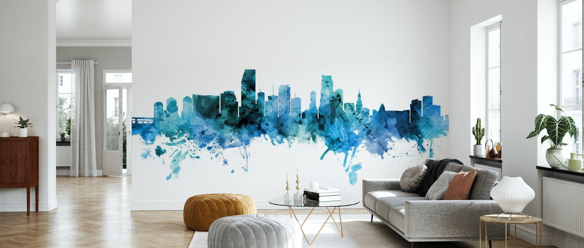 Miami Floride Skyline - Papier peint - Salle à manger