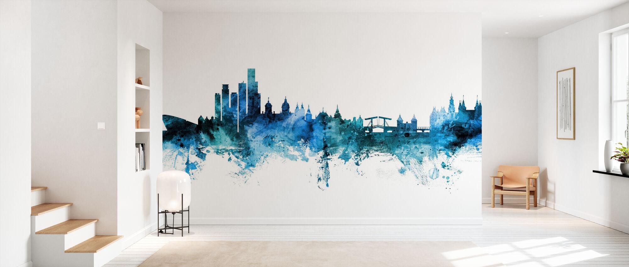 Amsterdam The Netherlands Skyline - Wallpaper - Hallway