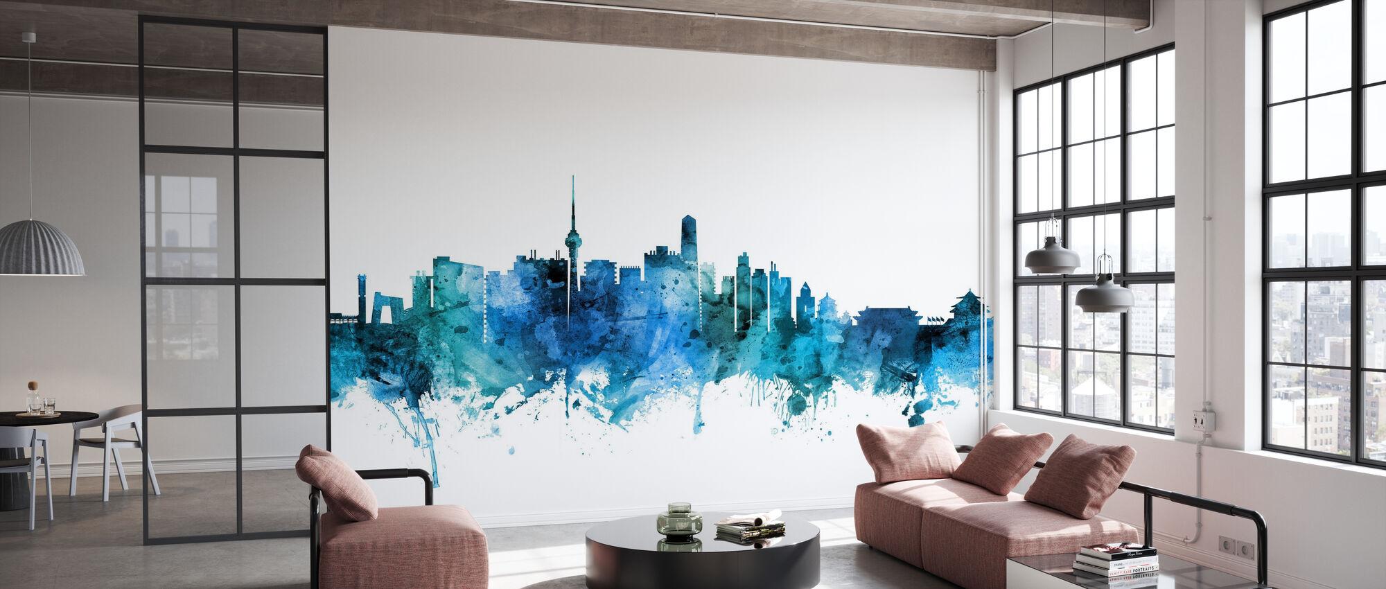 Beijing China Skyline - Papel pintado - Oficina