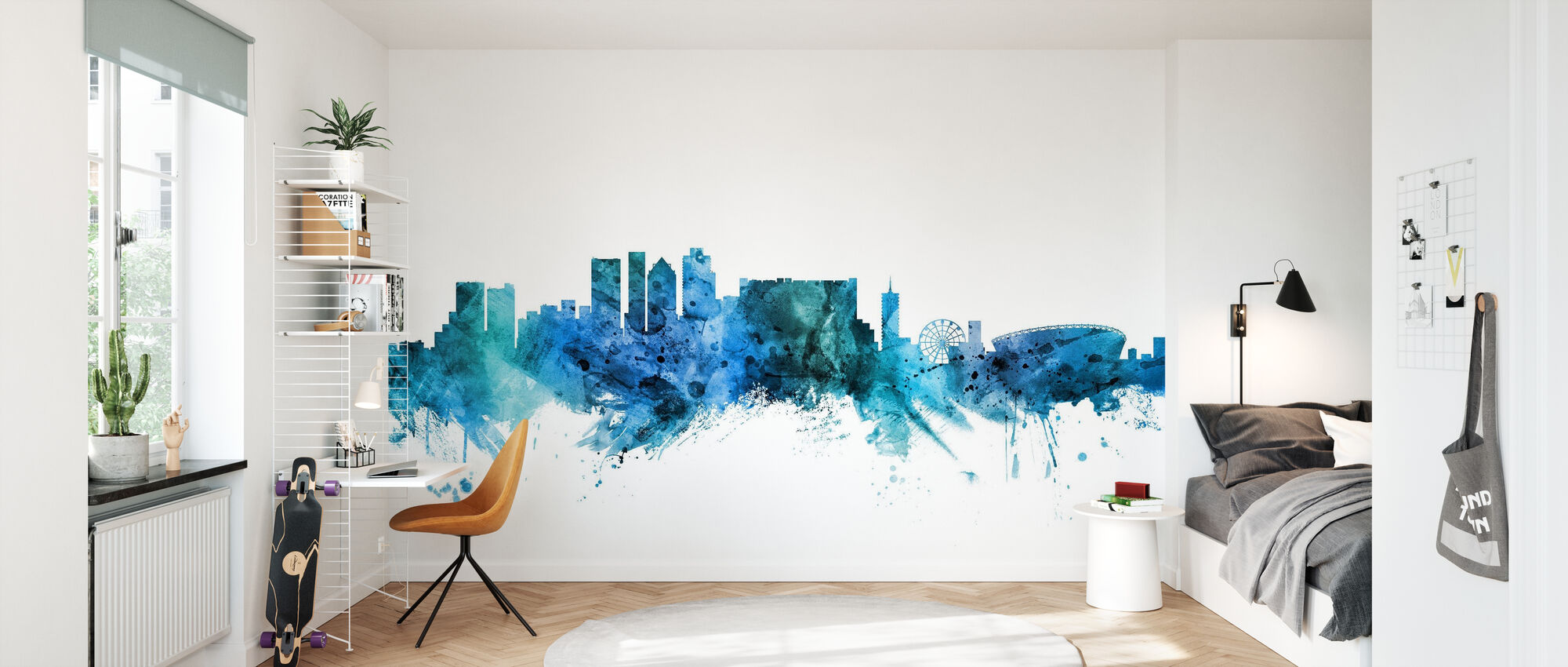 Cape Town South Africa Skyline - Wallpaper - Kids Room