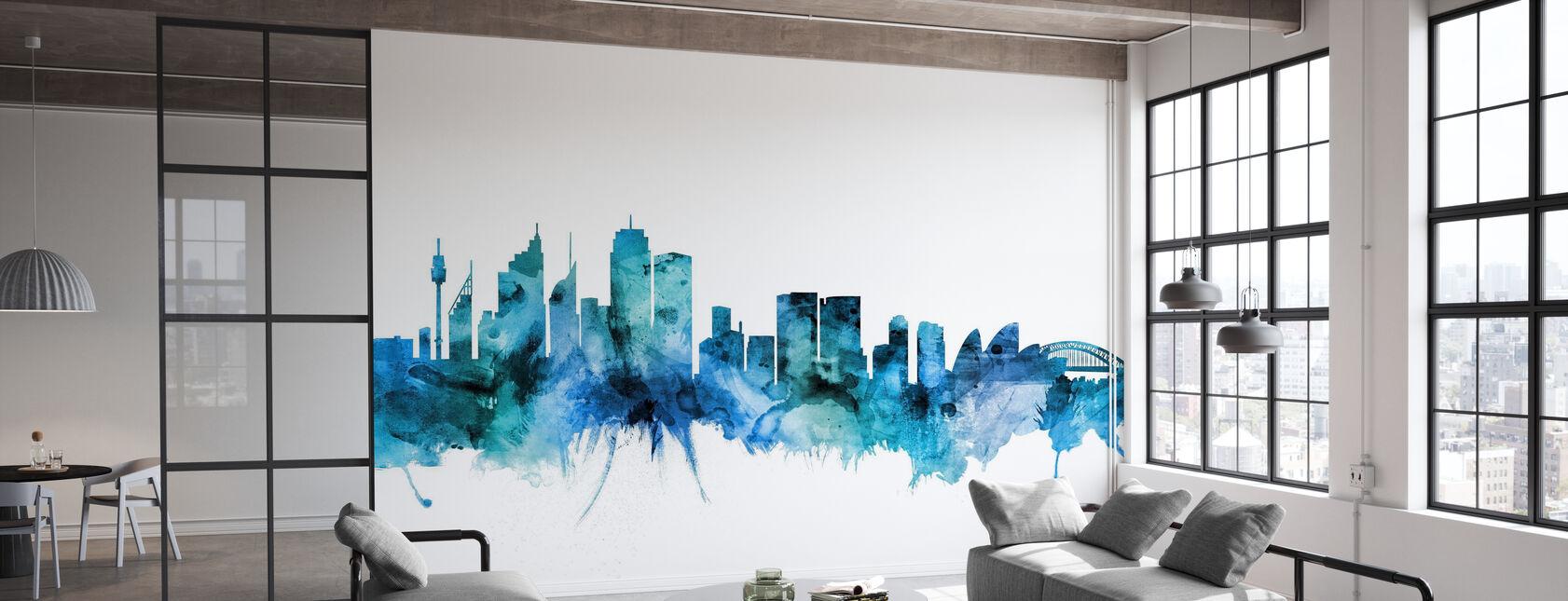 Sydney Australia Skyline - Wallpaper - Office