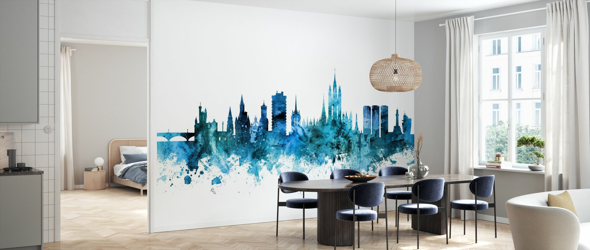 Aberdeen Scotland Skyline - Wallpaper - Kitchen